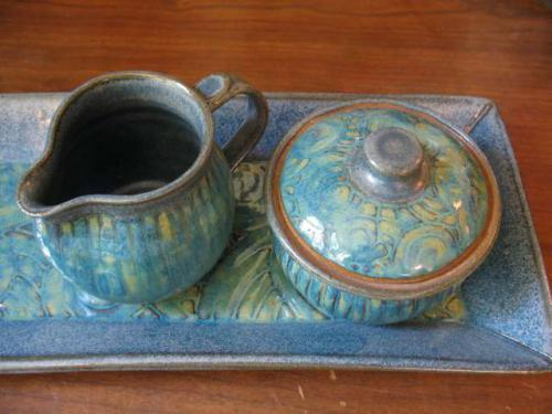 Sugar & Creamer Set - Sharon Long Kabbes
