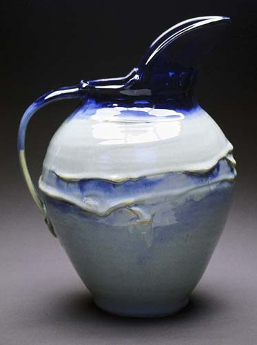 Blue Pitcher - Trina Feldhake