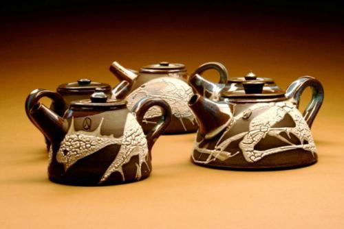 Midnight Teapots - John Mason