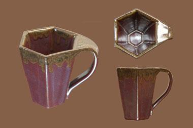 Hex Cup Slanted - Harold Dreibelbis
