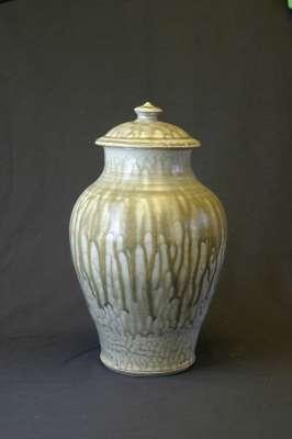 Ash Glazed Jar - Dennis Allen