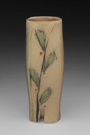 Squared Leaf Vase - Marcia Cochran