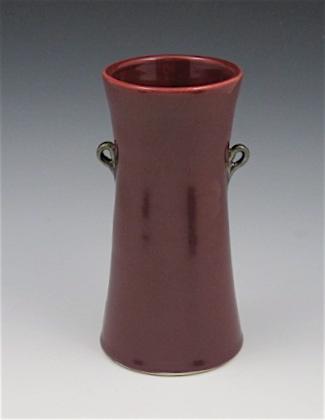 Red vase - Sue Cline