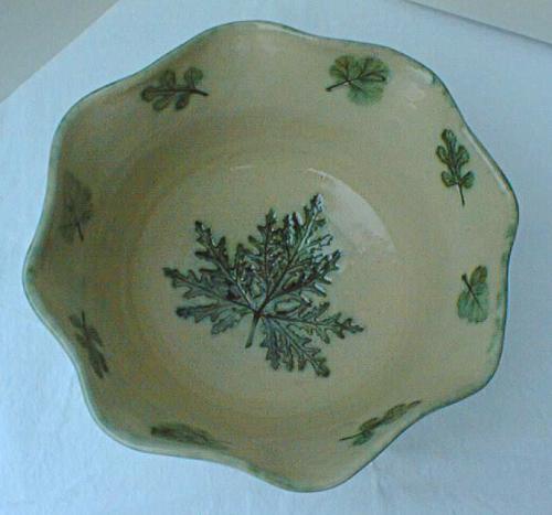 Scented Geranium Bowl - Sandy Manteuffel
