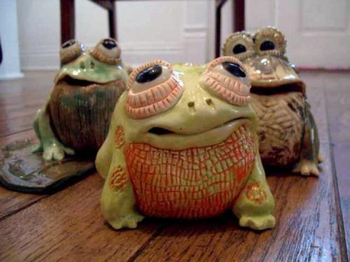 Frogs - Peggy Hamlin