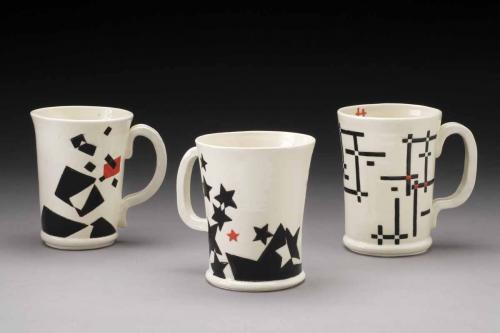 Geometric Mugs - Debby Abrams