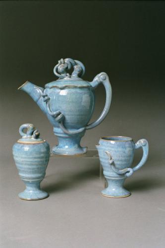 Blue Teapot - Larry Watson